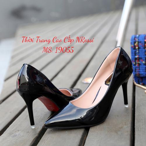 Giày cao gót bít mũi gót nhọn 7 phân màu đen bóng size 33 đến 43 NRossi - 7619308 , 17926838 , 15_17926838 , 370000 , Giay-cao-got-bit-mui-got-nhon-7-phan-mau-den-bong-size-33-den-43-NRossi-15_17926838 , sendo.vn , Giày cao gót bít mũi gót nhọn 7 phân màu đen bóng size 33 đến 43 NRossi