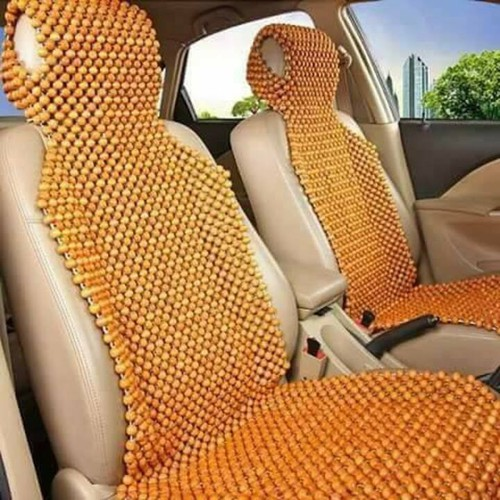 Đệm lót ghế massage ô tô, xe hơi gỗ tự nhiên 100 phần trăm PƠ MU cao cấp PM-M @Sản xuất thủ công tại Xưởng