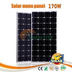 Combo 3 Tấm pin mặt trời mono 170W
