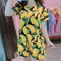 Bộ quần áo chuối - bộ đi biển đẹp