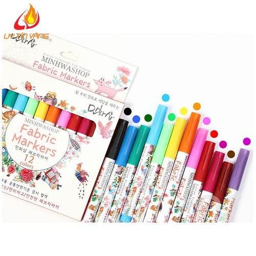 Bút lông đa năng 12 màu