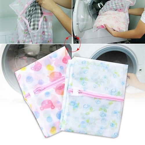 Túi Giặt Đồ Hình Chữ Nhật Cho Máy Giặt 50 x 60 cm - TG56