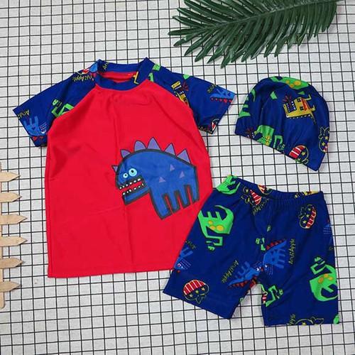 Bộ áo và quần đi bơi khủng long dễ thương kèm nón size nhỏ và đại - 4966517 , 17953224 , 15_17953224 , 170000 , Bo-ao-va-quan-di-boi-khung-long-de-thuong-kem-non-size-nho-va-dai-15_17953224 , sendo.vn , Bộ áo và quần đi bơi khủng long dễ thương kèm nón size nhỏ và đại