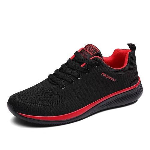 Giày thể thao sneaker nam phong cách Hàn Quốc màu đen đỏ đẹp giá rẻ - 4766475 , 17943100 , 15_17943100 , 169000 , Giay-the-thao-sneaker-nam-phong-cach-Han-Quoc-mau-den-do-dep-gia-re-15_17943100 , sendo.vn , Giày thể thao sneaker nam phong cách Hàn Quốc màu đen đỏ đẹp giá rẻ