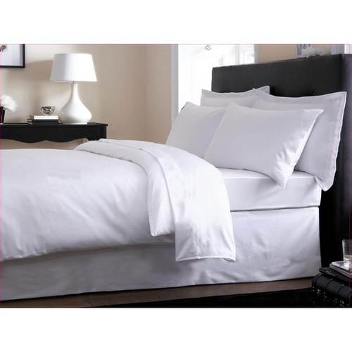 Bộ Ga Gối Cotton Trắng Trơn 1,2mx2m cho khách sạn, nhà nghỉ...