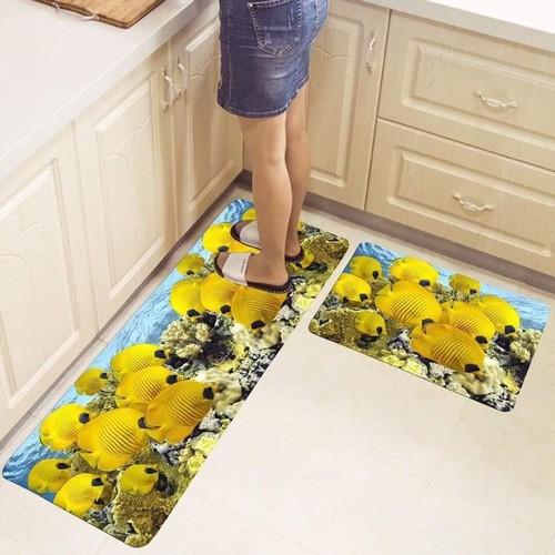combo 2 thảm nhà bếp