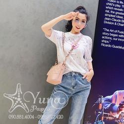 [Mua 2 Áo Tặng 1 Khẩu Trang Su Dày Kháng Khuẩn] Áo Thun Heo Con Good Luck In Cao Cấp - Yuna Boutique
