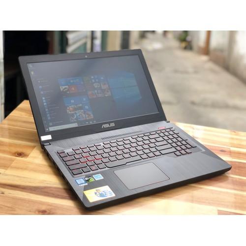 Laptop Asús Rog FX503VD, i7 7700HQ 8G SSD128 1THDD Vga GTX1050 4G Full HD Còn BH 4 2020 Giá rẻ