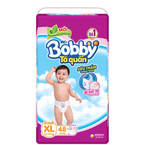 Tã Quần Bobby Gói Cực Đại XL48