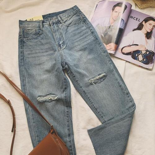 Quần jeans baggy nữ