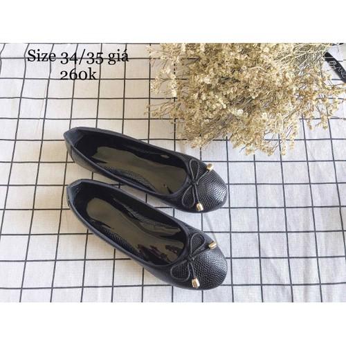 Giày búp bê da mềm êm chân hàng cao cấp xuất Nhật