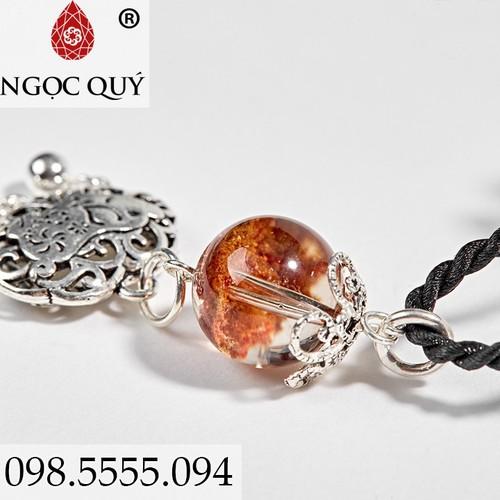 Dây Chuyền Nữ Mặt Túi Như Ý Heo Bạc - Ngọc Quý Gemstones