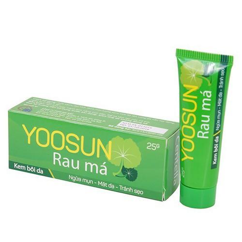 [ CHÍNH HÃNG] combo 5 tuýp Yoosun rau má trị sẹo , trị mụn, trị rôm sảy cho bé an toàn hiệu quả không gây kích ứng da