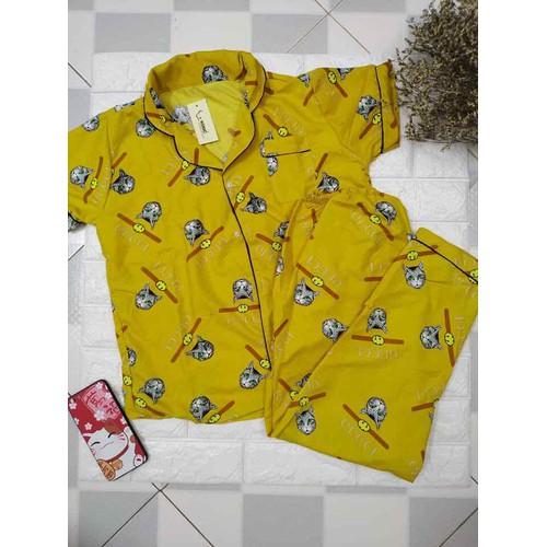 đồ bộ pijama kate thái loại1 quần dài tay ngắn - 11126007 , 17957088 , 15_17957088 , 90000 , do-bo-pijama-kate-thai-loai1-quan-dai-tay-ngan-15_17957088 , sendo.vn , đồ bộ pijama kate thái loại1 quần dài tay ngắn