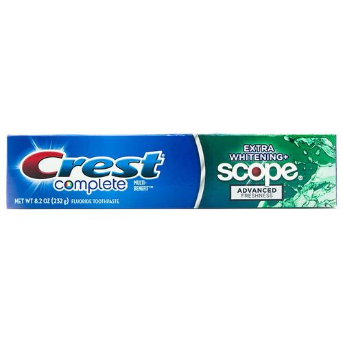 Kem Đánh Răng Crest Complete Extra Whitening 232g