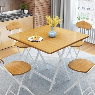 Bàn ghế gỗ gấp - bàn100-1 thumbnail