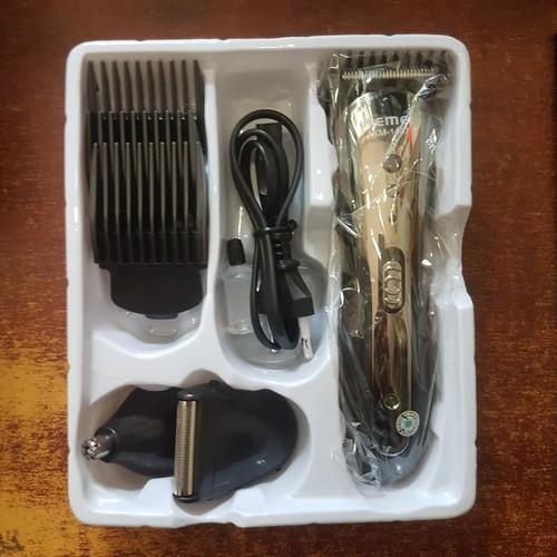 [SIÊU TRỢ GIÁ] Tông đơ cắt tóc kiêm cạo râu, tỉa lông mũi 3in1 chính hãng Kemei 1407 - 8741167 , 17960079 , 15_17960079 , 159000 , SIEU-TRO-GIA-Tong-do-cat-toc-kiem-cao-rau-tia-long-mui-3in1-chinh-hang-Kemei-1407-15_17960079 , sendo.vn , [SIÊU TRỢ GIÁ] Tông đơ cắt tóc kiêm cạo râu, tỉa lông mũi 3in1 chính hãng Kemei 1407