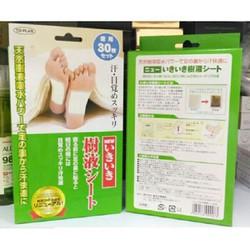 hộp 30 Miếng dán khử thải độc tố Kenko của Nhật
