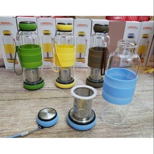 Bình thủy tinh pha trà có lọc trà 500ml - 8711663 , 17949317 , 15_17949317 , 145000 , Binh-thuy-tinh-pha-tra-co-loc-tra-500ml-15_17949317 , sendo.vn , Bình thủy tinh pha trà có lọc trà 500ml