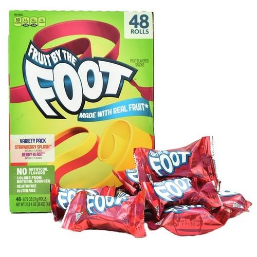 Kẹo Cuộn Trái Cây Fruit By The Foot 48 Pack