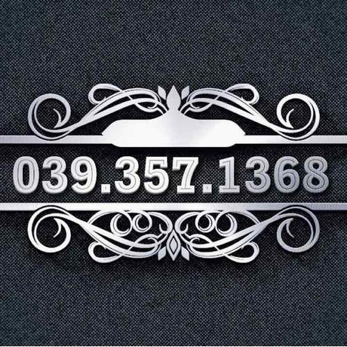sim trả trước 039 357 1368