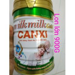 Sữa bột nguyên kem Milkmilkgold Canxi 900G