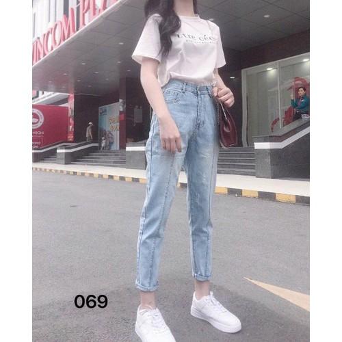 Quần jeans baggy nữ hiện đại - 8743089 , 17960895 , 15_17960895 , 135000 , Quan-jeans-baggy-nu-hien-dai-15_17960895 , sendo.vn , Quần jeans baggy nữ hiện đại