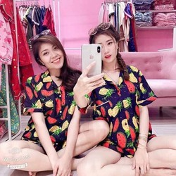 Bộ quần áo đôi đi biển - quần áo đẹp