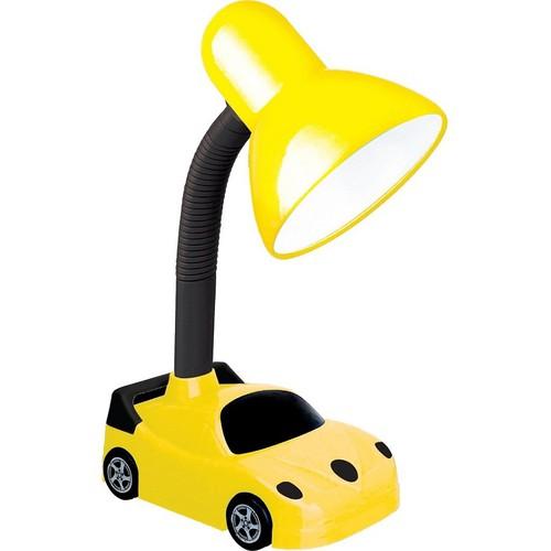 Đèn bàn để học chống cận ĐQ bóng led ánh sáng trắng, kiểu dáng ô tô màu đen vàng kute