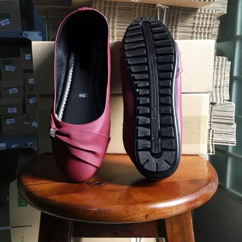 giày búp bê đá mềm