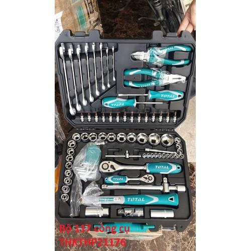 Bộ 117 công cụ dụng cụ đồ nghề Total THKTHP21176 - 8715905 , 17950677 , 15_17950677 , 2080000 , Bo-117-cong-cu-dung-cu-do-nghe-Total-THKTHP21176-15_17950677 , sendo.vn , Bộ 117 công cụ dụng cụ đồ nghề Total THKTHP21176