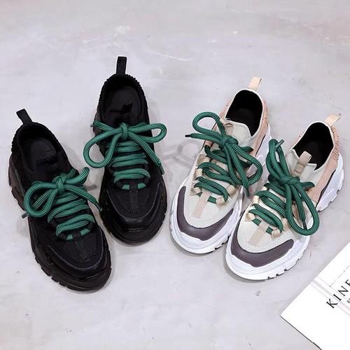 Giày thể thao sneaker nữ độn đế chun xoắn phong cách hàn quốc ulzzang da cao cấp phối màu cực đẹp giá rẻ chất siêu đẹp màu đen full đen kem hồng đế trắng đế cao - 8698626 , 17944643 , 15_17944643 , 209000 , Giay-the-thao-sneaker-nu-don-de-chun-xoan-phong-cach-han-quoc-ulzzang-da-cao-cap-phoi-mau-cuc-dep-gia-re-chat-sieu-dep-mau-den-full-den-kem-hong-de-trang-de-cao-15_17944643 , sendo.vn , Giày thể thao sneake