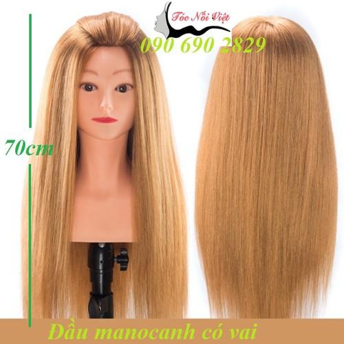 Đầu manocanh có vai cho người học làm tóc