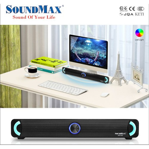 Loa Vi tính Soundmax SB 202 Thời trang - Mẫu mới 2019