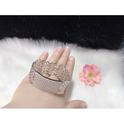 Lắc tay nữ cao cấp màu bạch kim cực đẹp - 4967025 , 17956587 , 15_17956587 , 350000 , Lac-tay-nu-cao-cap-mau-bach-kim-cuc-dep-15_17956587 , sendo.vn , Lắc tay nữ cao cấp màu bạch kim cực đẹp