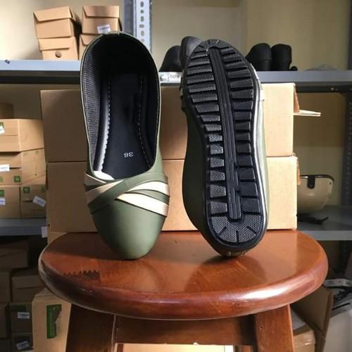 Giày búp bê nữ da mềm