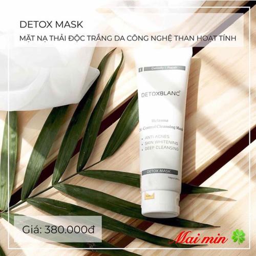 Mặt nạ thải độc Detox blanc số 1