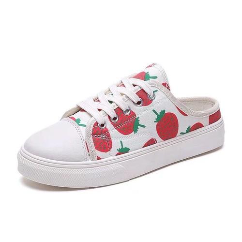 Giày sục thể thao nữ vải trắng đen in hình quả dâu đỏ - giày thể thao nữ giày sneaker nữ giá rẻ chất siêu đẹp phong cách ulzzang hàn quốc phối màu - 8700693 , 17945430 , 15_17945430 , 119000 , Giay-suc-the-thao-nu-vai-trang-den-in-hinh-qua-dau-do-giay-the-thao-nu-giay-sneaker-nu-gia-re-chat-sieu-dep-phong-cach-ulzzang-han-quoc-phoi-mau-15_17945430 , sendo.vn , Giày sục thể thao nữ vải trắng đen i