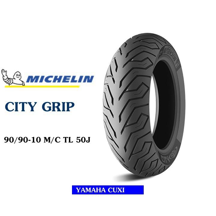 Lốp MICHELIN 90.90-10 CITY GRIP MC TL 50J Vỏ xe máy MICHELIN size 90.90-10 CITY GRIP MC TL 50j Việt Nam, giá rẻ, uy tín 1