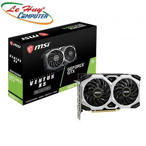 Card Màn Hình - VGA MSI GeForce GTX 1660 Ti VENTUS XS 6G OC - 8713571 , 17950068 , 15_17950068 , 8599000 , Card-Man-Hinh-VGA-MSI-GeForce-GTX-1660-Ti-VENTUS-XS-6G-OC-15_17950068 , sendo.vn , Card Màn Hình - VGA MSI GeForce GTX 1660 Ti VENTUS XS 6G OC
