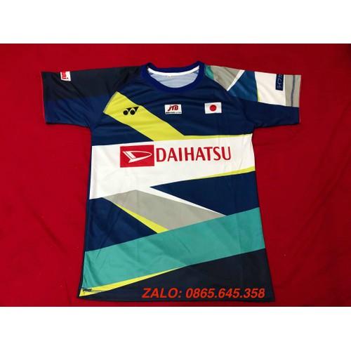 Áo cầu lông tuyển Nhật Bản 2019 NEW CÓ TAY