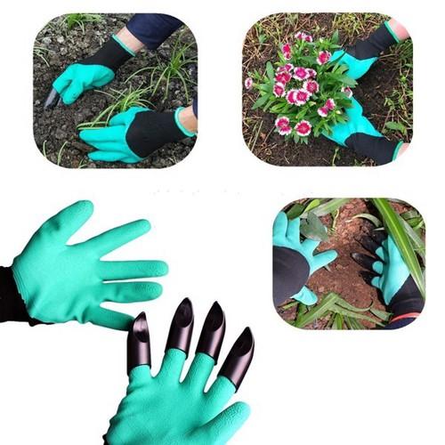 Bao tay làm vườn có thiết kế nhỏ gọn giúp bạn thuận tiện hơn trong quá trình làm vườn