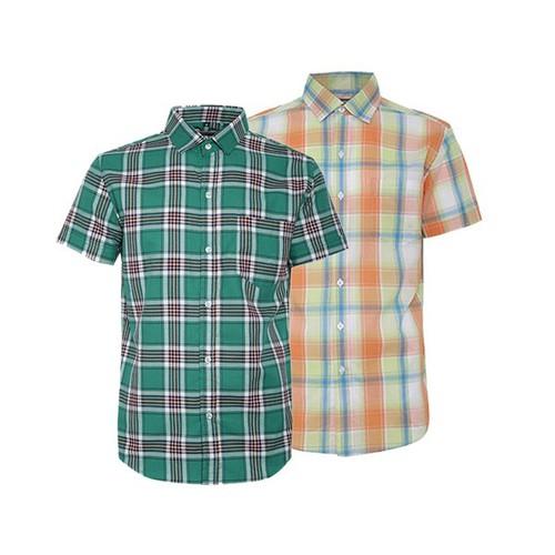 Combo 2 áo sơ mi nam sọc caro phong cách mới SMC3310