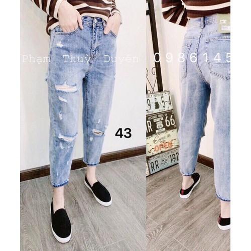 Quần jeans baggy nữ kiểu siêu đẹp - 8743016 , 17960802 , 15_17960802 , 135000 , Quan-jeans-baggy-nu-kieu-sieu-dep-15_17960802 , sendo.vn , Quần jeans baggy nữ kiểu siêu đẹp
