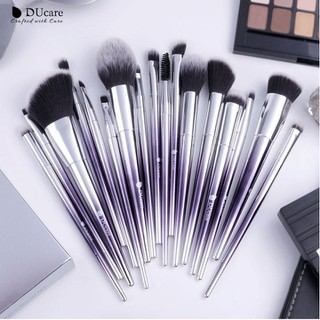 Bộ Cọ Trang Điểm 17 Cây DUcare 17 PCS Makeup Brushes Set - D8 thumbnail