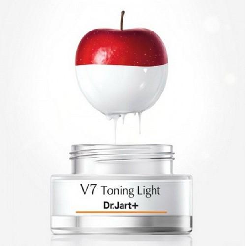 [Hộp 15ml] Kem dưỡng trắng da V7 Toning Light Dr.Jart+