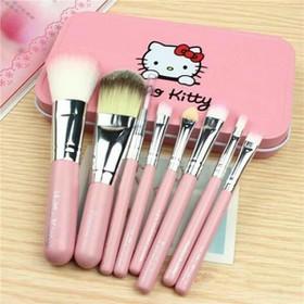 Bộ Cọ Trang Điểm 7 Món Hello Kitty - LK078-3-EODF