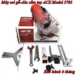 Máy Đánh Cạnh Gỗ,Soi Gấp Mép Alu ACZ Model 3703-Tặng Kèm Mũi Soi Alu