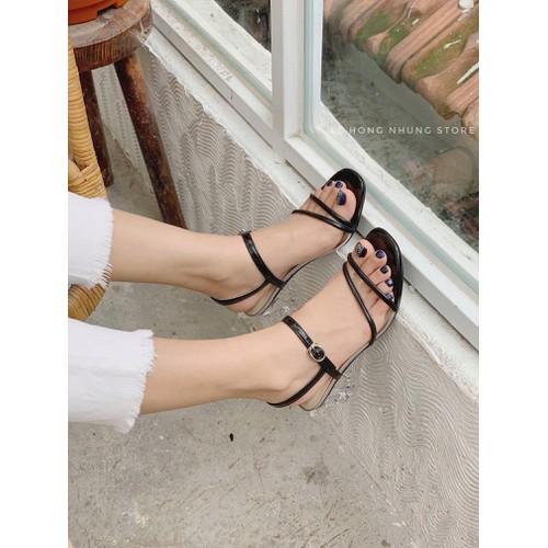 Sandal Gót Trong Đẹp