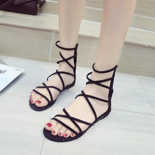 Sandal Nữ Kiểu dáng Hàn Quốc - Giày Sandal Nữ Đế Bệt - Giày Sandal Nữ Chiến Binh - 11740648 , 19067304 , 15_19067304 , 300000 , Sandal-Nu-Kieu-dang-Han-Quoc-Giay-Sandal-Nu-De-Bet-Giay-Sandal-Nu-Chien-Binh-15_19067304 , sendo.vn , Sandal Nữ Kiểu dáng Hàn Quốc - Giày Sandal Nữ Đế Bệt - Giày Sandal Nữ Chiến Binh